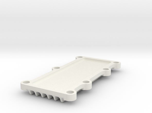 CamCover in White Natural Versatile Plastic