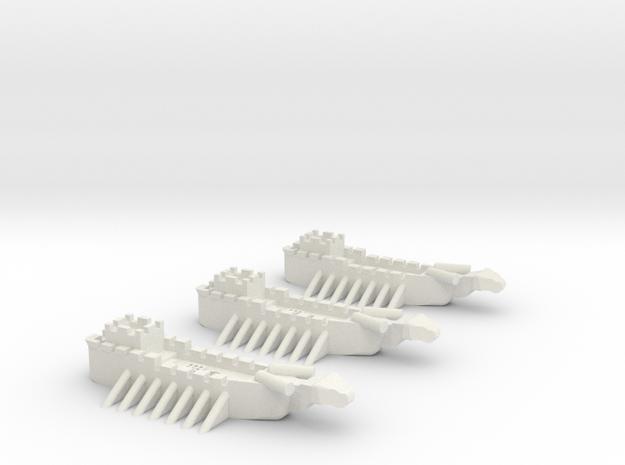 Fantasy Fleet Sloops 3d printed