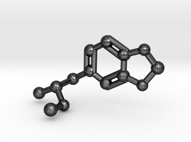 MDMA Molecule Keychain