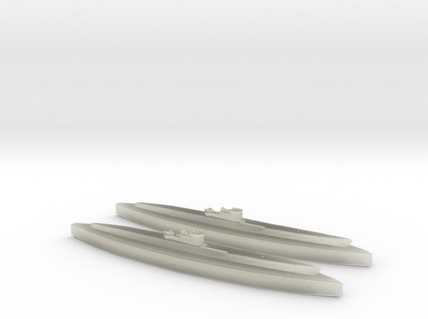 U-862 (Type IXD2 U-Boat) 1/1800 x2 3d printed
