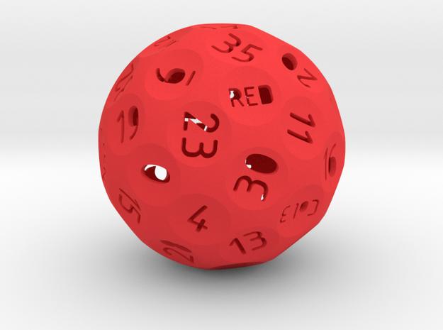 Roulette Die 3d printed