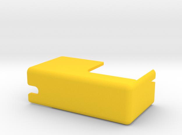WMS - Coin Door Switch Cover Prt# 03-7233 in Yellow Processed Versatile Plastic