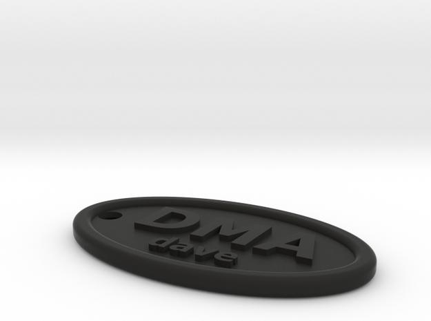 DMA dave fob 3d printed