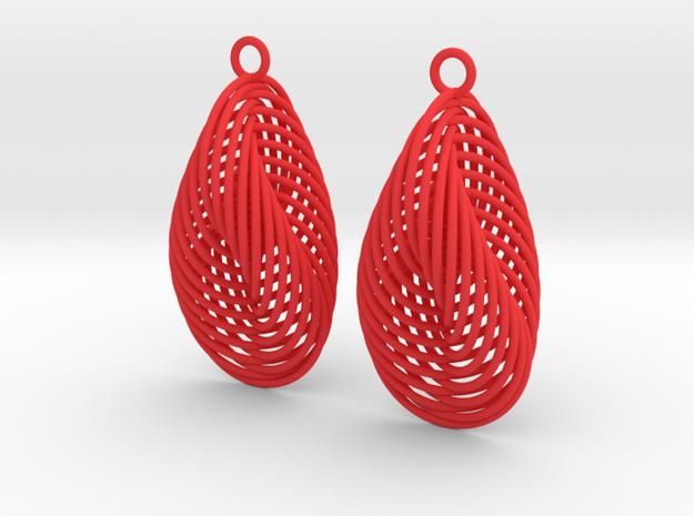 Interleaved Hopf Earrings