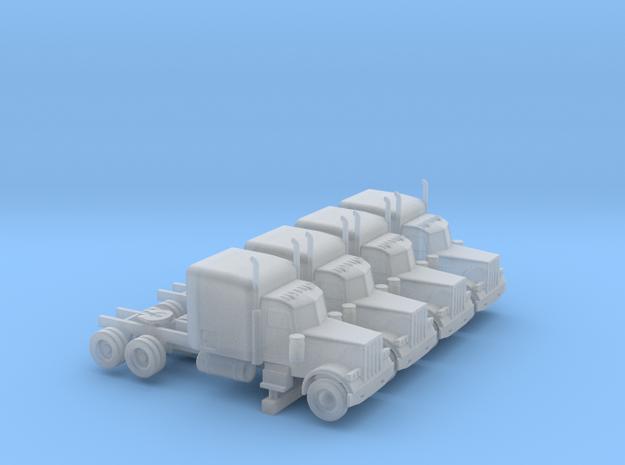 Peterbilt 379 Sleeper Set - 1:144 scale in Smooth Fine Detail Plastic