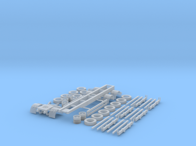 1/87 Ht/3ax/A136/6RBS in Smooth Fine Detail Plastic