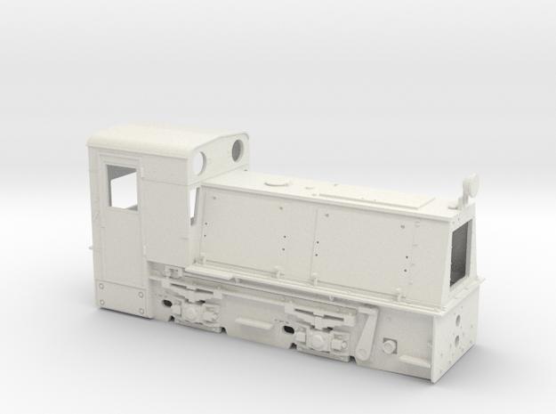 Feldbahnlok HF50b Spur 0e/f Waldbahn Reichraming ( 3d printed