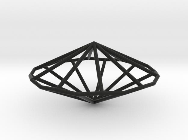 DecagonalTrapezohedron 70mm 3d printed