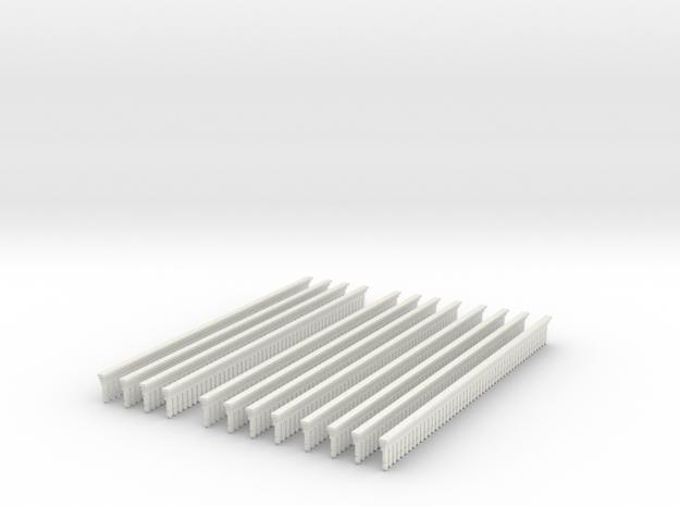 Valance Type 2 X 12  in White Natural Versatile Plastic