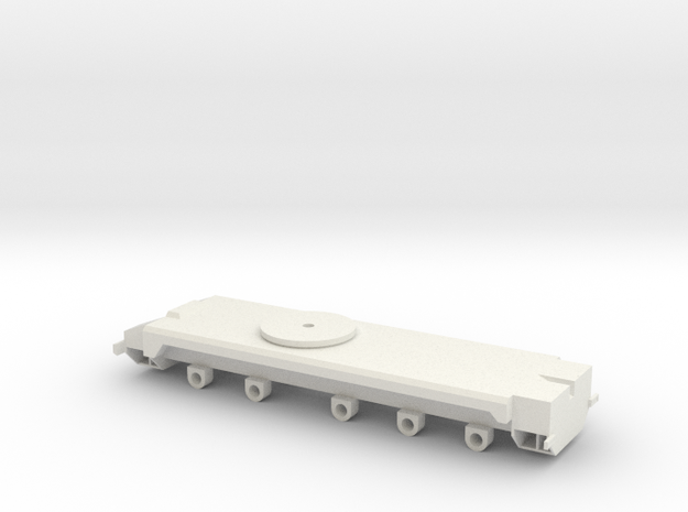AMK86 Chassis in White Natural Versatile Plastic
