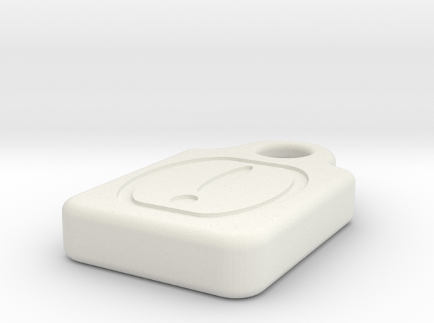 MicroSD!Mark in White Strong & Flexible