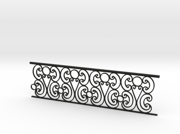 1:24 Ornate Railing