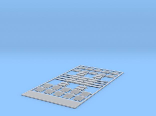Schlauchbrüˆcken-HFS-System  in Smooth Fine Detail Plastic