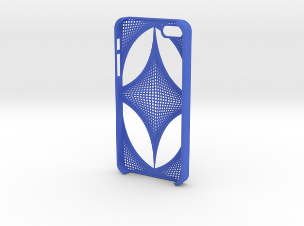 iPhone 5 case - thatch pattern 3d printed