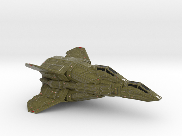 ANTARES HEAVY FIGHTER 1/72 (COLOR) in Full Color Sandstone