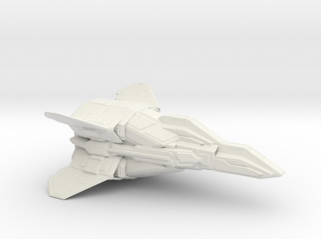 ANTARES HEAVY FIGHTER 1/72 in White Natural Versatile Plastic