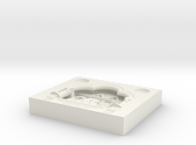 BSA Device Diarama in White Strong & Flexible