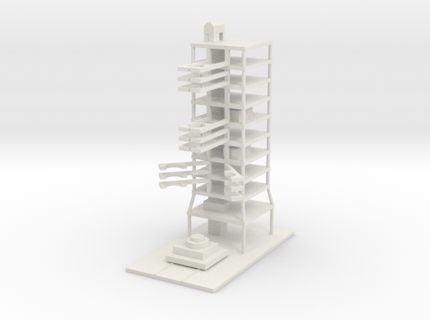 1/700 Sohae Satellite Launch Station in White Natural Versatile Plastic