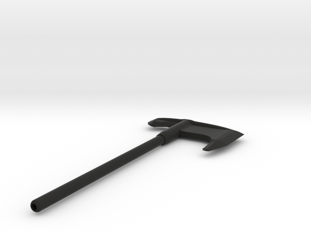 Two Handed Steel Axe 3d printed