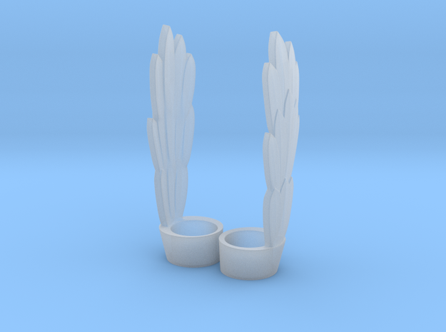 Stratos' Wings for Minimate (pair) in Smooth Fine Detail Plastic
