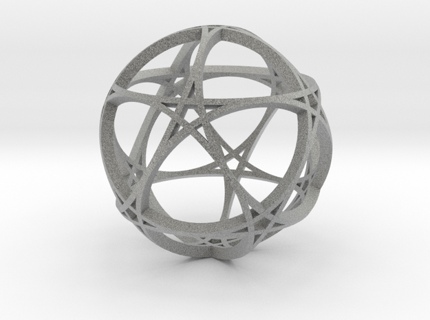 Pentagram Dodecahedron 1 (narrow, medium) 3d printed