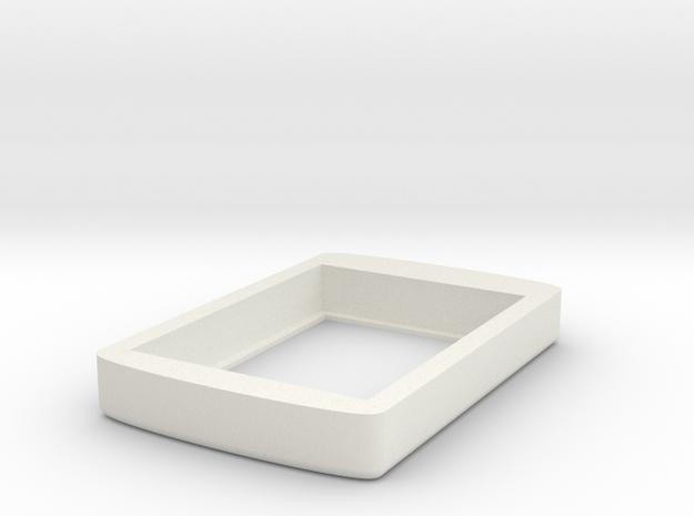 Ujnqgg66g6vcoakukerqvaspa7 46237455.stl in White Natural Versatile Plastic
