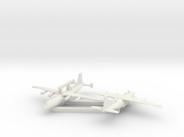 1/600 Shaanxi KJ AEW B in White Natural Versatile Plastic