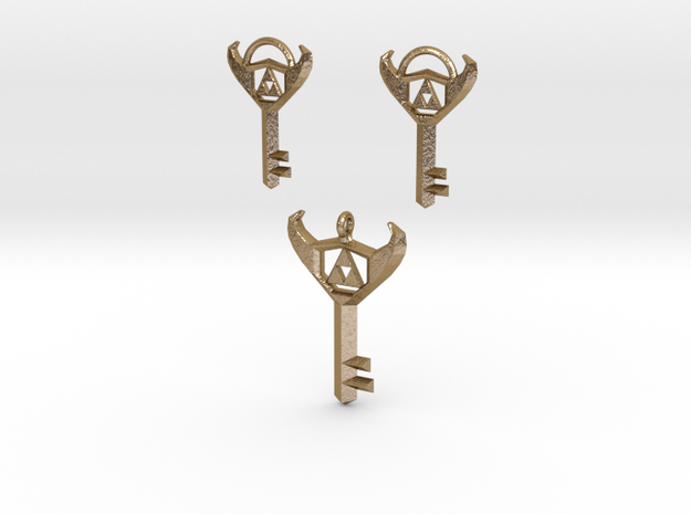Jewelry Of The Boss: Earrings & Necklace Set 3d printed