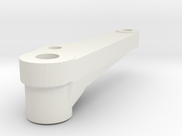 Brake Hanger 3R in White Natural Versatile Plastic