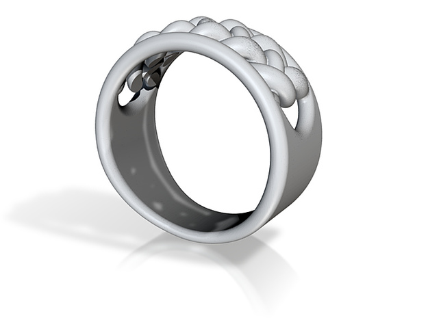 EHNisja 06, Ring Braided 3d printed