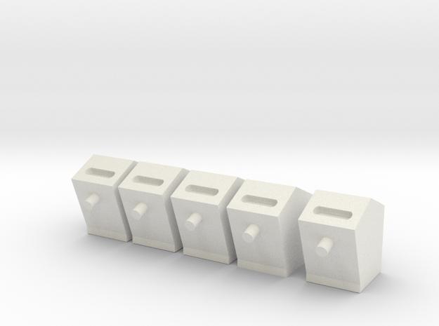Briefkasten in White Natural Versatile Plastic