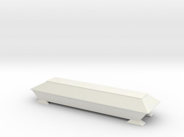 Sarg für Spur HO (1:87) in White Natural Versatile Plastic