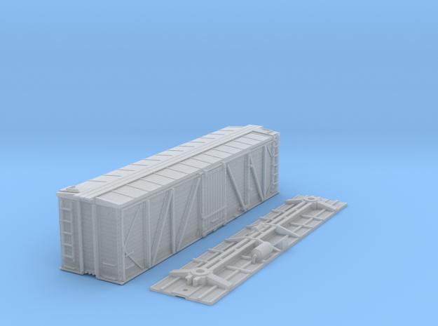 "N-Scale D&RGW ""Fowler Clone"" Boxcar (AB Brakes) 3d printed"