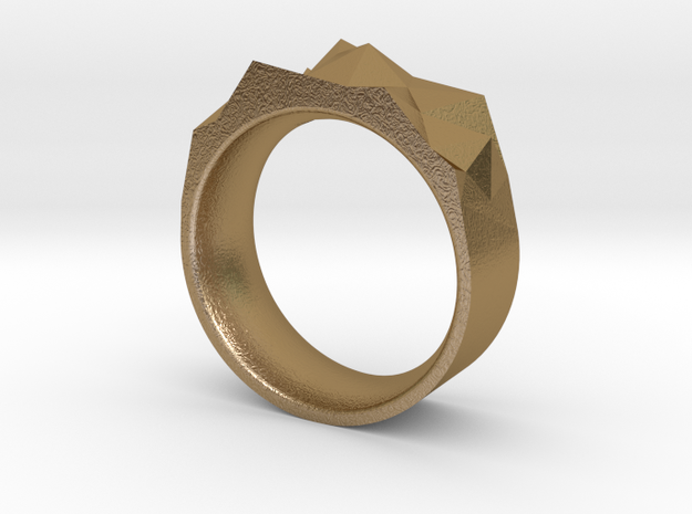 Triangulated Ring - 20mm 3d printed