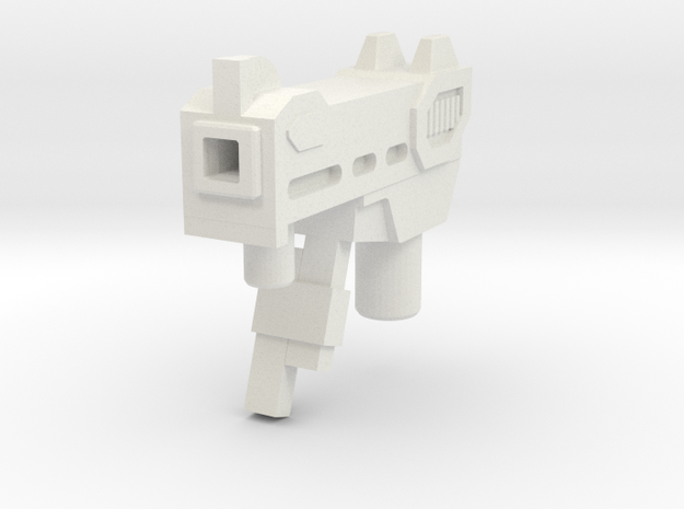 MP5kup version (maketoys) in White Natural Versatile Plastic