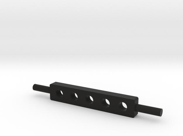 Drawbar 1/32 in Black Natural Versatile Plastic
