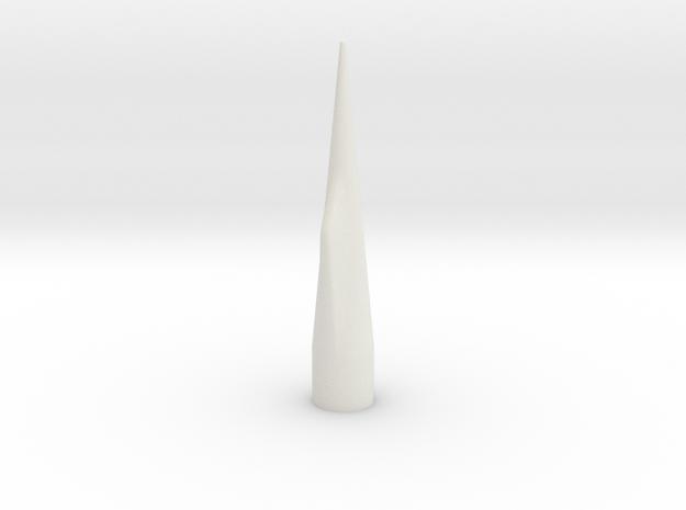 NC-55 (Upscale PNC-50SP) NO Shoulder in White Natural Versatile Plastic