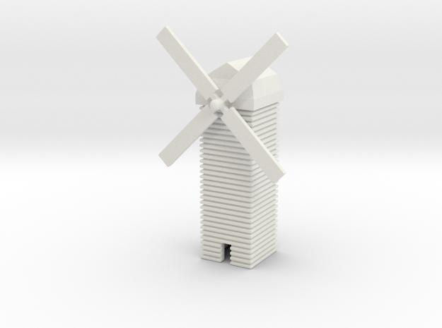1/700 Windmill in White Natural Versatile Plastic