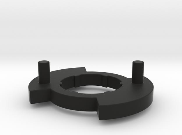 Bugaboo Gen 3 Disk(L)  in Black Natural Versatile Plastic