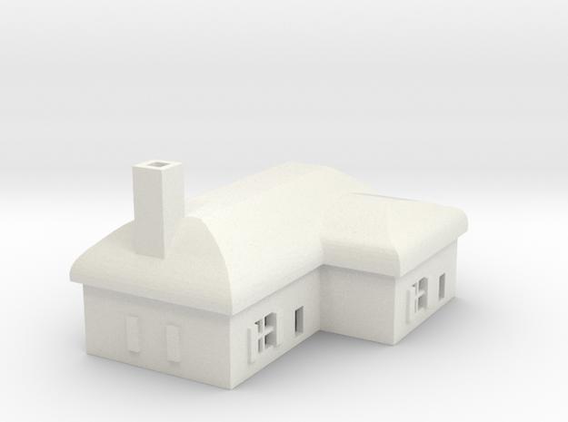 1/700 Villiage House 2 in White Natural Versatile Plastic