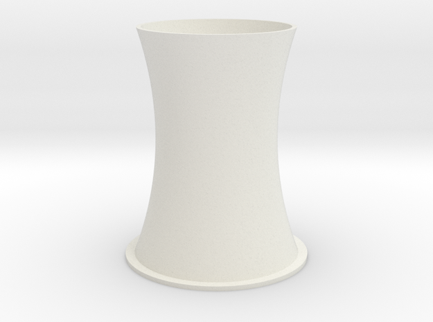 1/700 Cooling Tower in White Natural Versatile Plastic