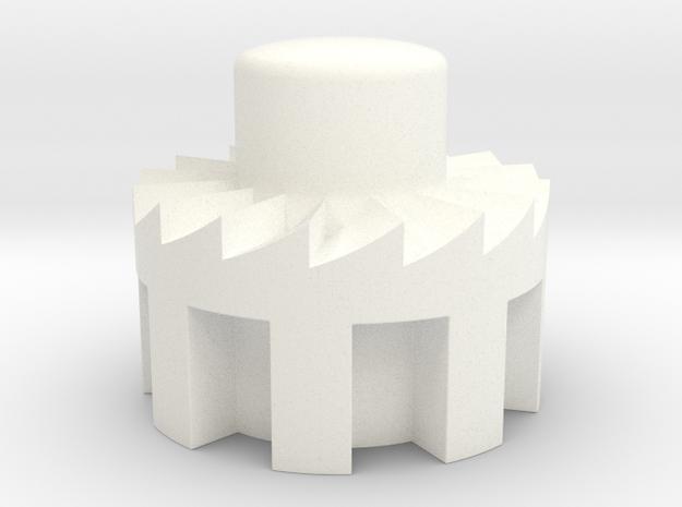 Bugaboo Cameleon Gen2 Brake Lever Button in White Processed Versatile Plastic