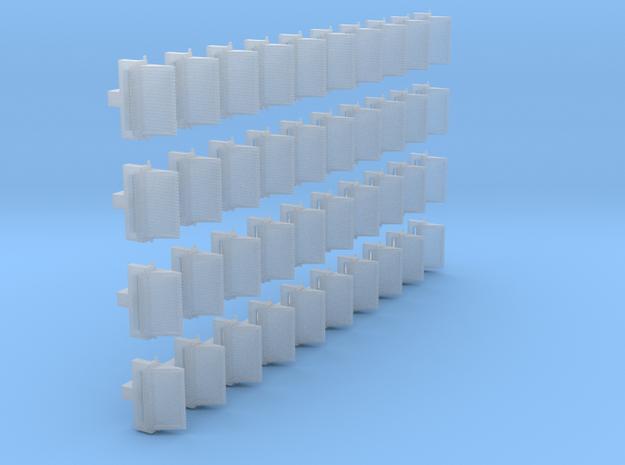 Wandleuchte 40x.stl in Smooth Fine Detail Plastic