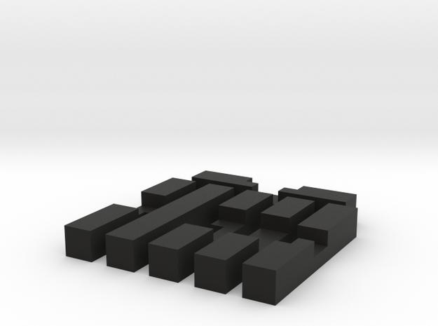 Andromeda puzzle 3d printed