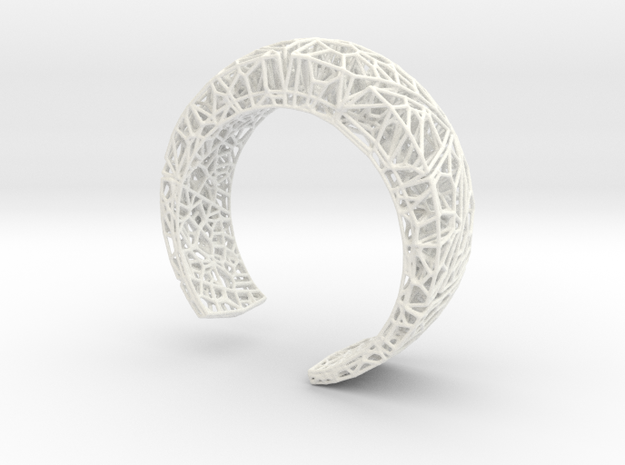 VoronoiBracelet v019 Small/Smart/Symmetrical 3d printed
