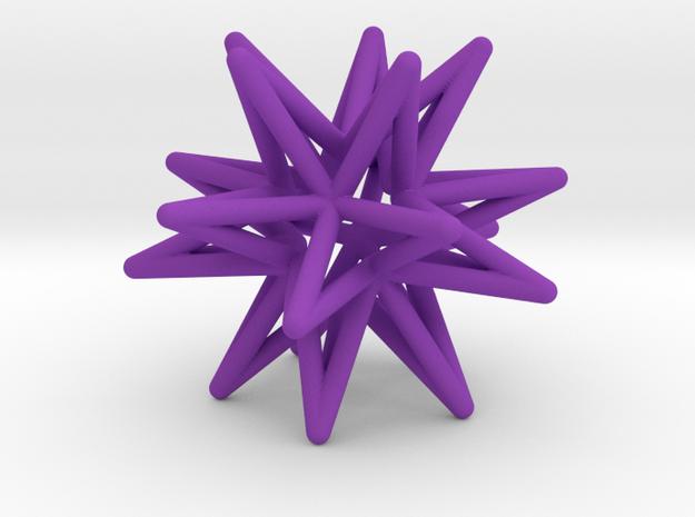 Icosahedron Star Earring