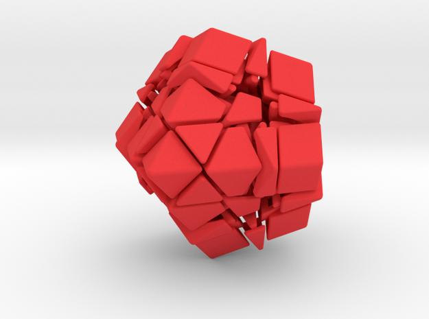 Jumble Trap Unbandaged Puzzle 3d printed