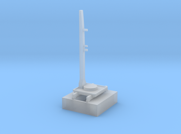 1/700 Space Launch Complex 41 in Smooth Fine Detail Plastic