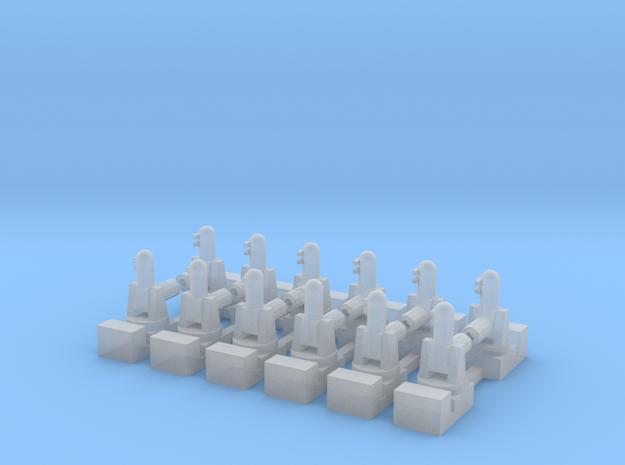 1/700 Phalanx CIWS (x12) in Smooth Fine Detail Plastic