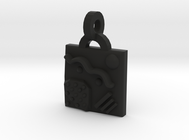 Miscellany Pendant 3d printed